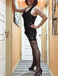 TGirl Lucy is all sparkly